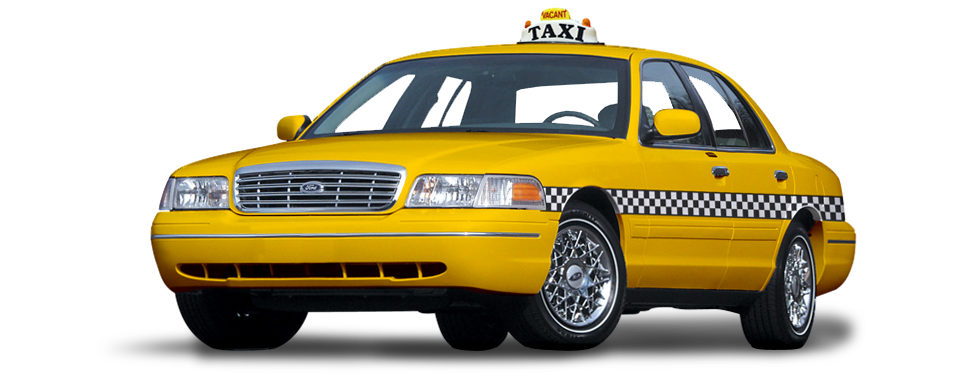Taxi Cab OHare Airport Chicago Flat Rate PNG